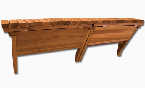 Cedar Wood Storage Bar